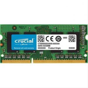 CRUCIAL CT4G4SFS824A 24000 SODIMM Memoria ram DDR4 para laptop 4GB CL17