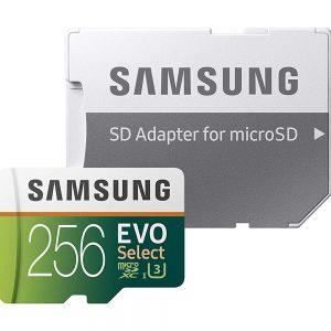 SAMSUNG MB-ME256G MicroSDHC 1 card evo select Tarjeta micro SD 256 GB 100MG/S 4k Class 10
