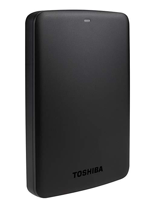 TOSHIBA HDTC910XW3AA Toshiba Hard Drive Disco duro externo 1TB USB Hard Drive 3.0
