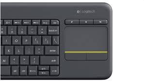 LOGITECH 1824SCF0N0W9 K400 PLUS TV Teclado inalambrico con con touch pad incluido en español