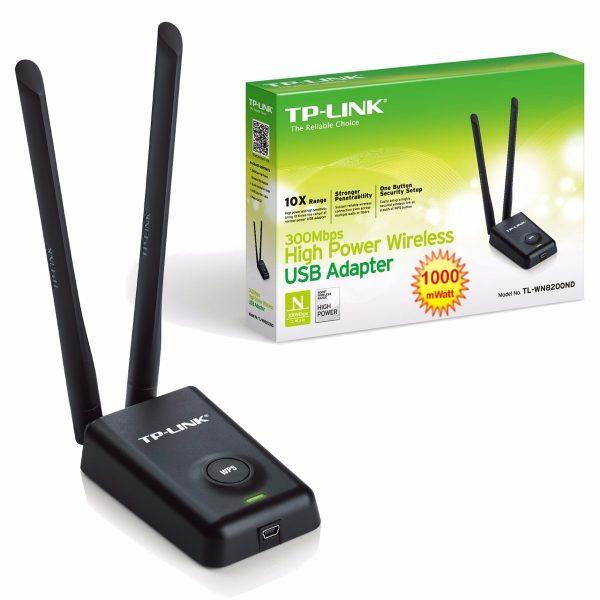 TP-LINK 152502185 Archer T2UHP AC600 USB adaptador rompe muro de señal, expansor de señal