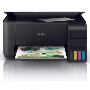 EPSON Multifuncional de tinta Epson EcoTank L3110C11CG87303Imprime 33/15 ppm (negro/color) a 5760x1440 dpi, escaneo a 1200x600 dpi, copias hasta A4, bandeja de entrada: 100 hojas, bandeja de salida: 30 hojas. RESOLUCION DE IMPRESIÓN 5760 x 1440VELOCIDAD DE IMPRESIÓN MAXIMA EN NEGRO 33 PPMMAXIMA EN COLOR 15 PPM, CAPACIDAD DE HOJAS BANDEJA PRINCIPAL (1) 100 HOJAS,10 SOBRES, BANDEJA DE SALIDA PRINCIPAL 30 HOJAS TAMAÑO DE HOJAS A4, A6, CARTA, OFICIO, SOBRES No. 10PERSONALIZADO TAMAÑO MAXIMO : 10.50 X 24.10 CM INTERFACES USB 2.0