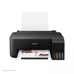 EPSON Impresora de tinta continua Epson L1110C11CG89302Bandeja de entrada: 100 hojas / 10 sobres, bandeja de salida 30 hojas, presentación en caja.RESOLUCION MAX COLOR: 5760 X 1440 DPIVELOCIDAD MAX COLOR: 15 PPMVELOCIDAD MAX COLOR NEGRO: 33 PPM CONECTIVIDAD USB 2.0
