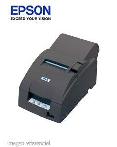 EPSON Impresora Epson TM-U220AC31C513A8901matriz de 9 pines, velocidad de impresión 4.7 - 6.0 lps. Suministro ERC-38, impresión de papel original y copia, interfaz USB. MARCA EPSONMODELO TM-U220ATECNOLOGIA DE IMPRESION IMPACTO (MATRIZ DE PUNTOS 9 PINES)VELOCIDAD DE IMPRESION 4,7 lps (a 40 columnas, 16 cpi)6,0 lps (a 30 columnas, 16 cpi)CONECTIVIDAD USBBUFFER 4 KBSUMINISTRO DE IMPRESION ERC-38VOLTAJE DE ALIMENTACION Adaptador de 24vESPECIFICACIONES ADICIONALES Juego de caracteres:95 Alfanumérico37 Internacional128 x 12 GráficoCaracteres por pulgada: 17.8/16 cpi / 14.5/13.3CARACTERISTICAS FISICAS DIMENSIONES (CM) 16.00 x 28.70 x 15.74