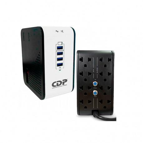 CDPR 2C-AVR 1008I. Regulador de voltaje 8 puertos 500wa